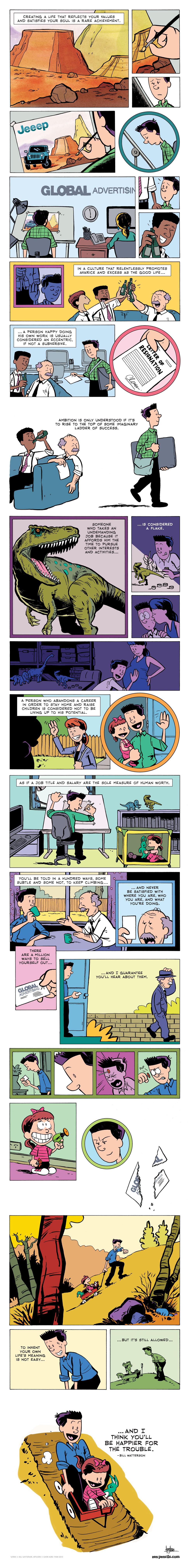 Life lesson comic